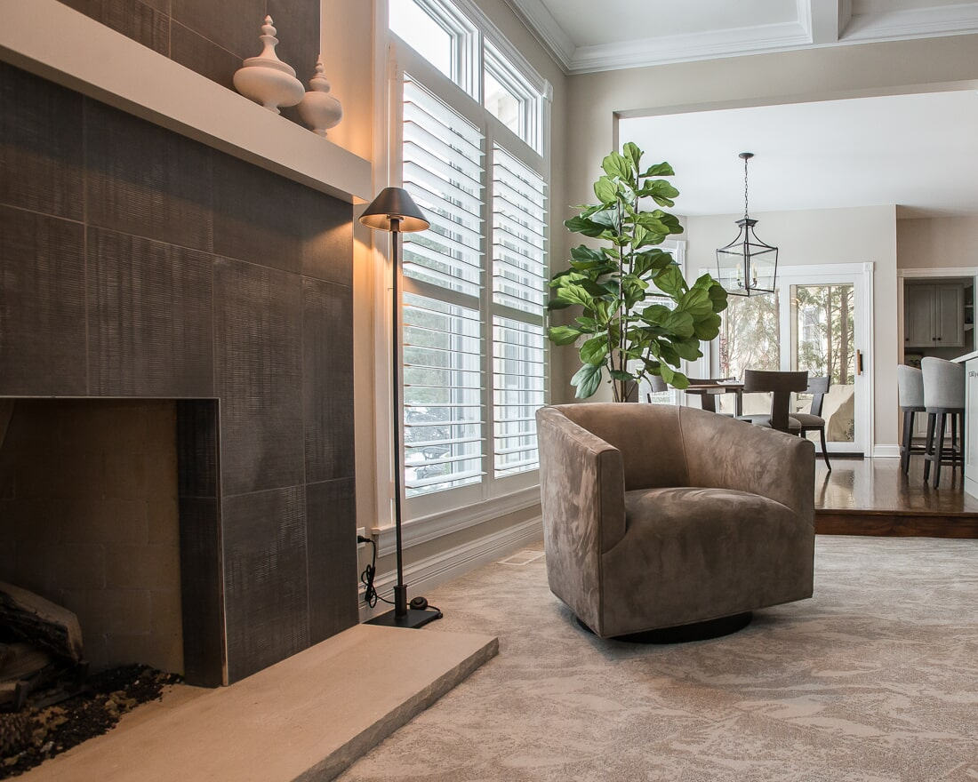 Patterned Fabrica carpet in St. Charles, IL from Carlson's Floors