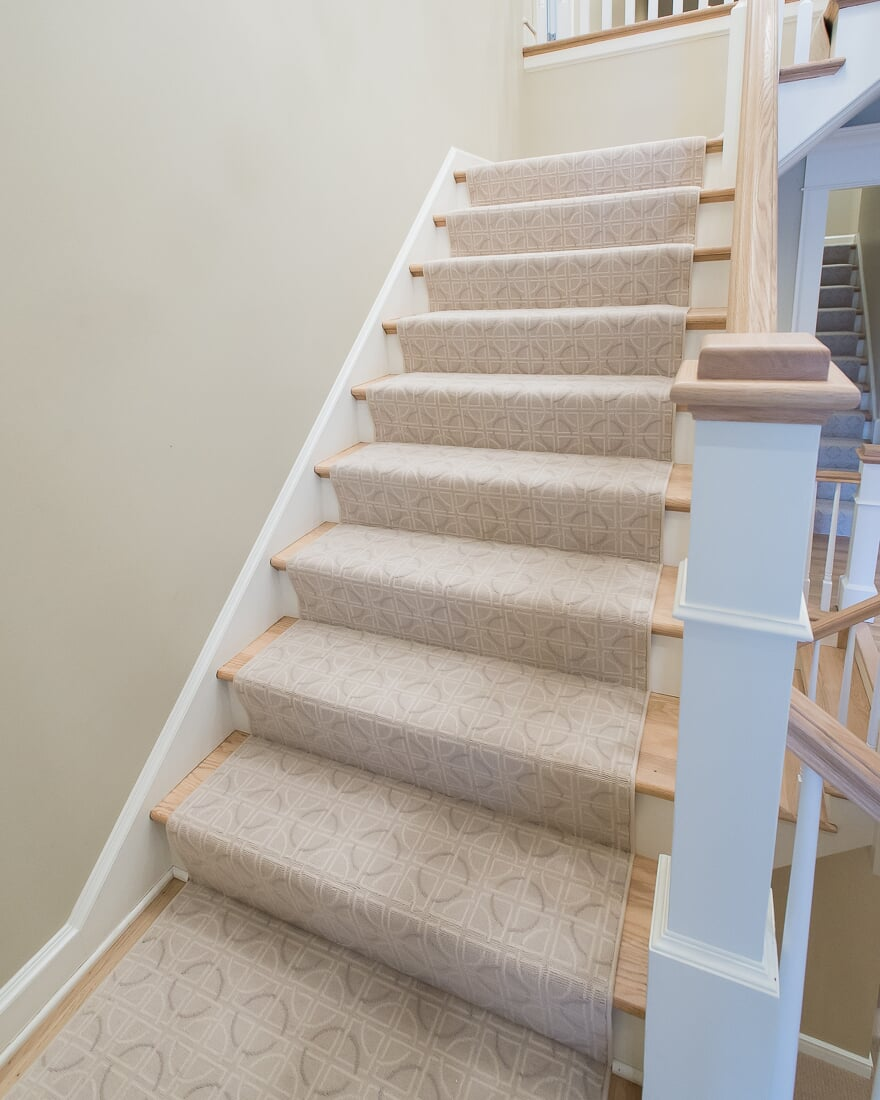 Carpet stair runner in Hinsdale, IL from Carlson's Floors