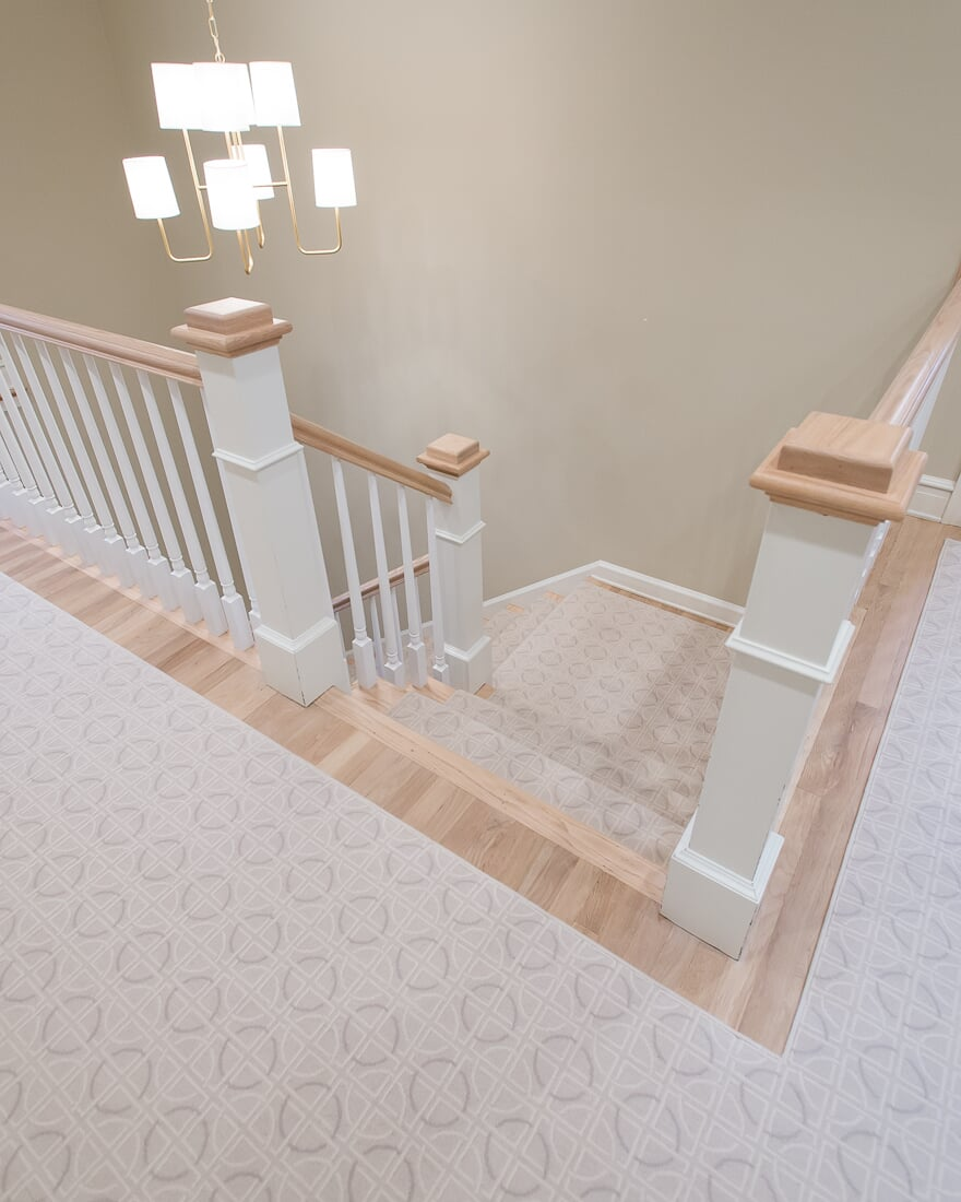 Area rug and stair runner in Hinsdale, IL from Carlson's Floors