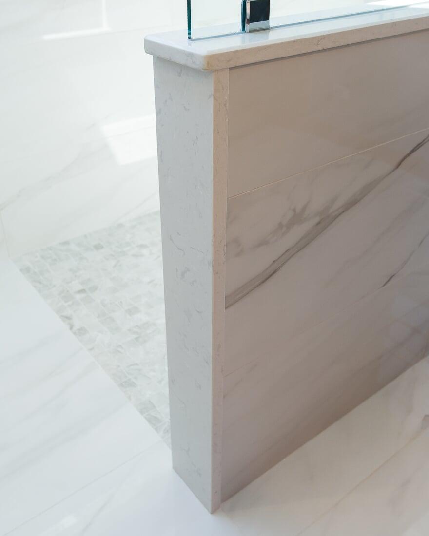 Stone trim in Geneva, IL from Carlson's Floors