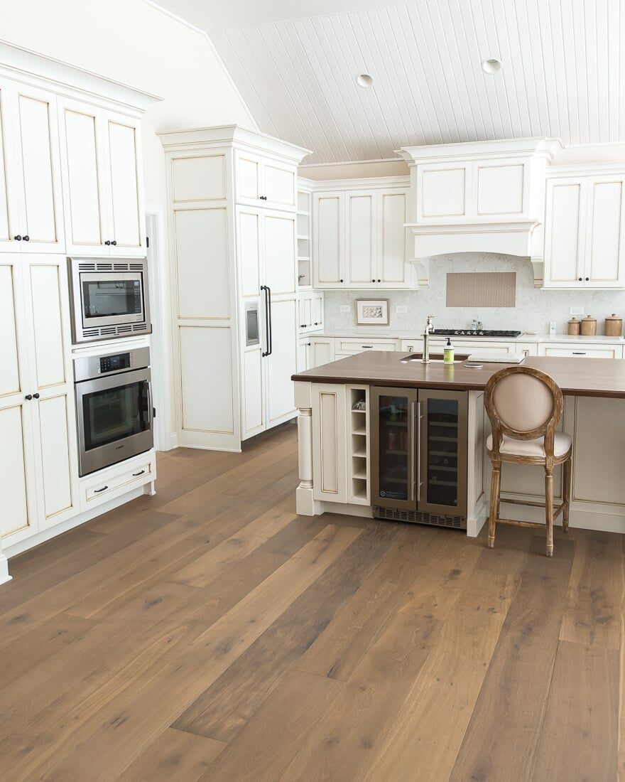 European white oak hardwood flooring in Geneva, IL from Carlson's Floors