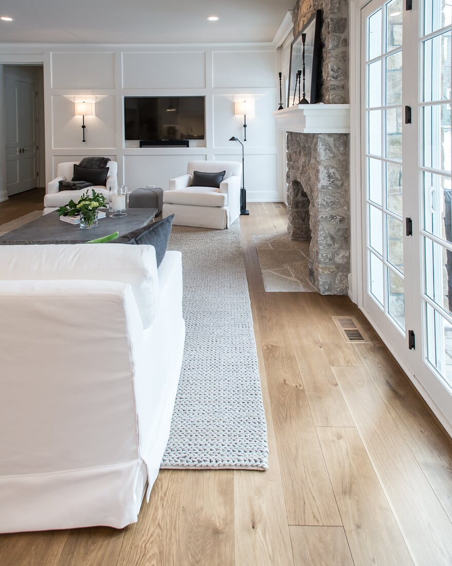 Wide plank flooring in Geneva, IL from Carlson's Floors