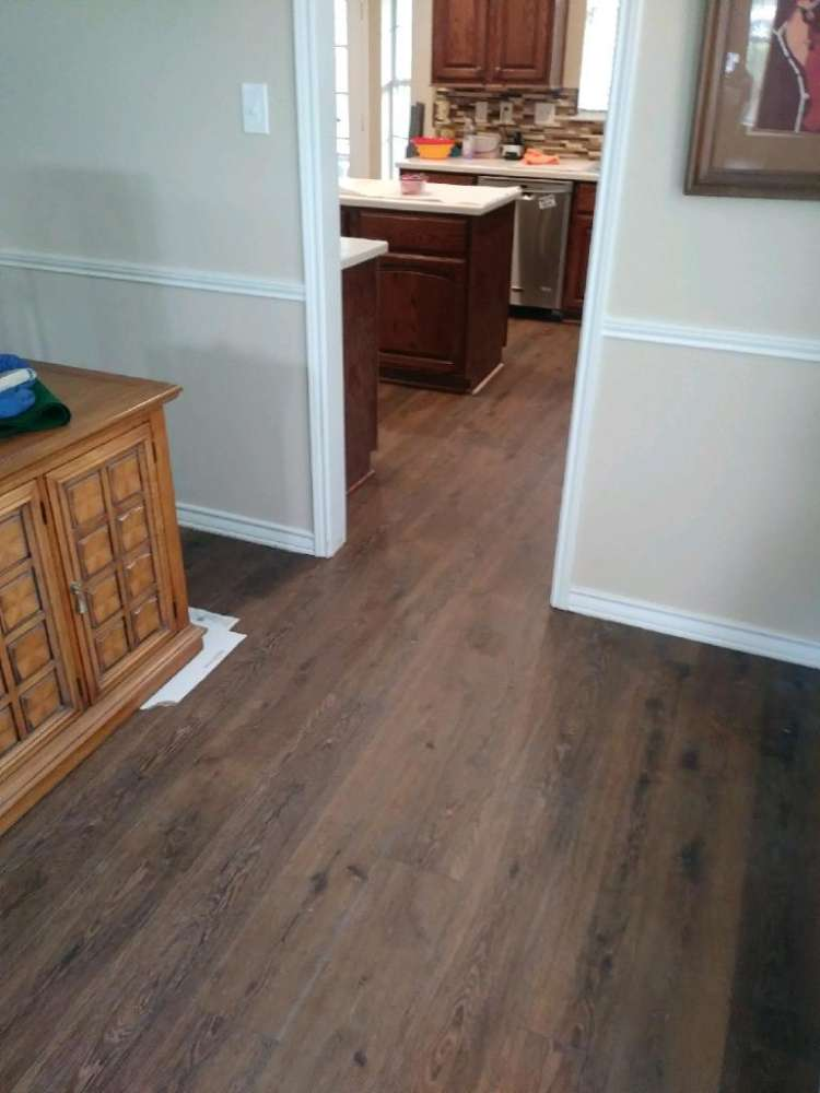 Luxury vinyl flooring from ALL-PRO FLOORS in Dallas–Fort Worth