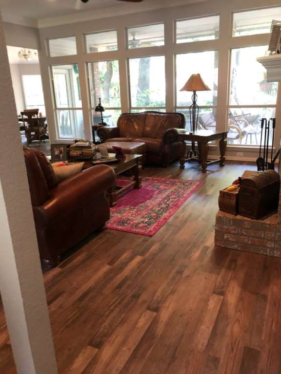 Hardwood flooring from ALL-PRO FLOORS in Fort Worth, TX