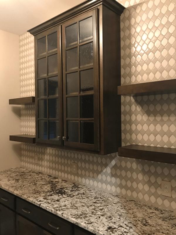 Tile backsplash in Webb City, MO from Joplin Floor Designs