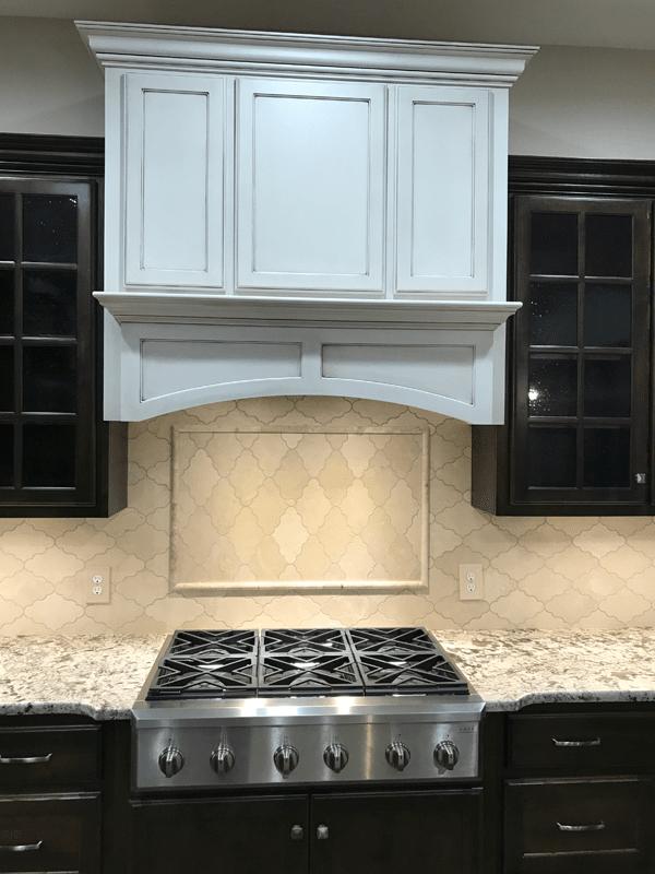 Tile backsplash in Leawood, MO from Joplin Floor Designs