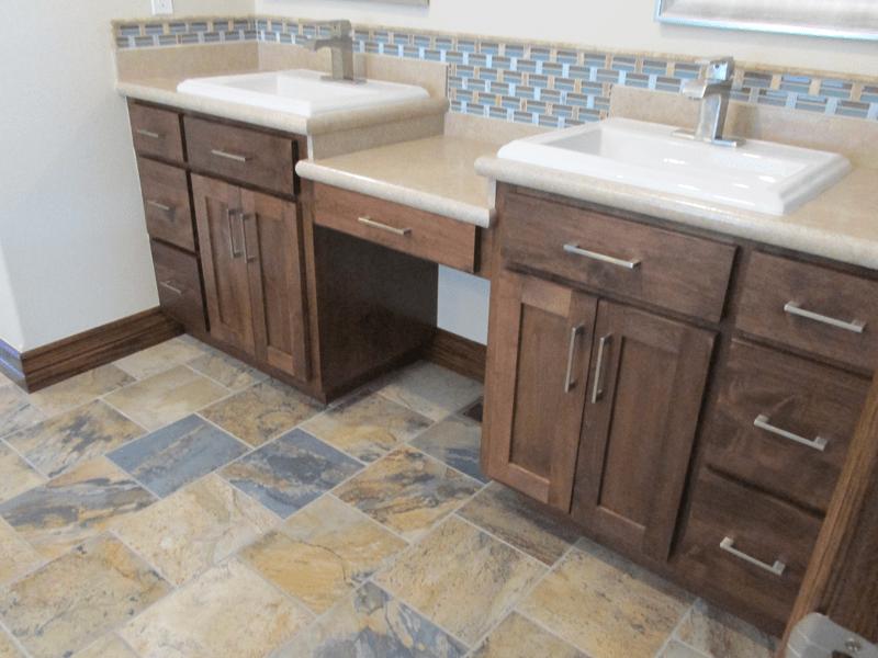 Tile flooring in Leawood, MO from Joplin Floor Designs