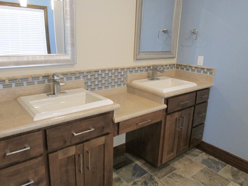 Bathroom remodel in Joplin, MO from Joplin Floor Designs