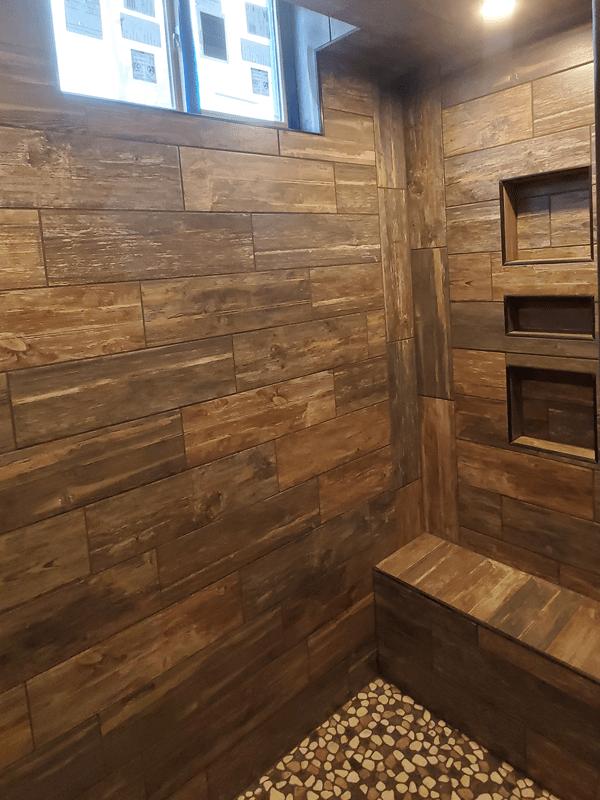 Shower tile in Leawood, MO from Joplin Floor Designs