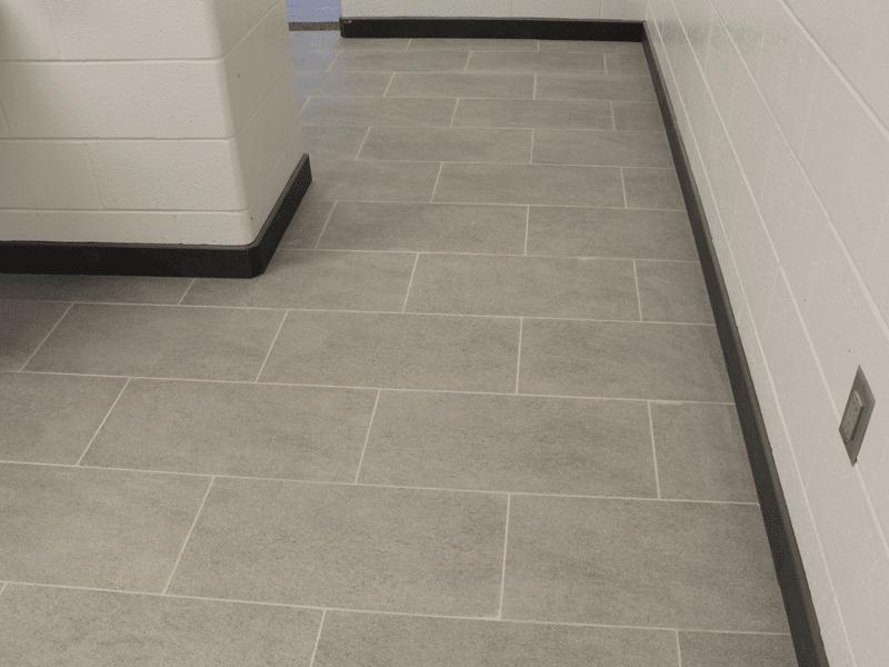 Commercial bathroom flooring in Carthage, MO from Joplin Floor Designs