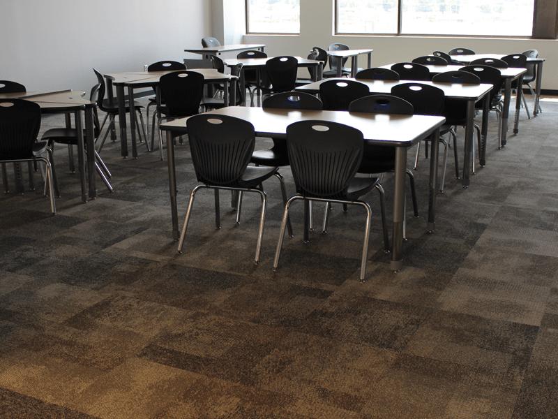 Classroom flooring in Joplin, MO from Joplin Floor Designs