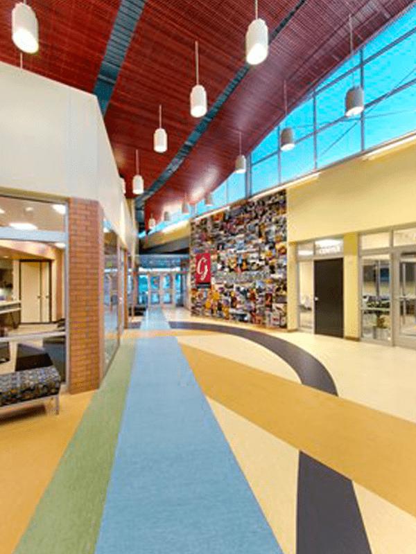 Custom commercial flooring in Joplin, MO from Joplin Floor Designs