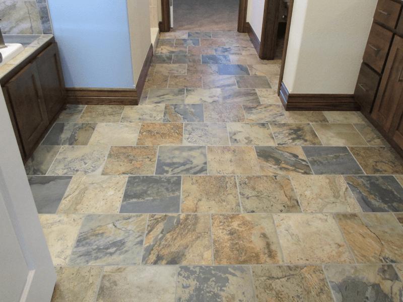 Natural stone flooring in Joplin, MO from Joplin Floor Designs