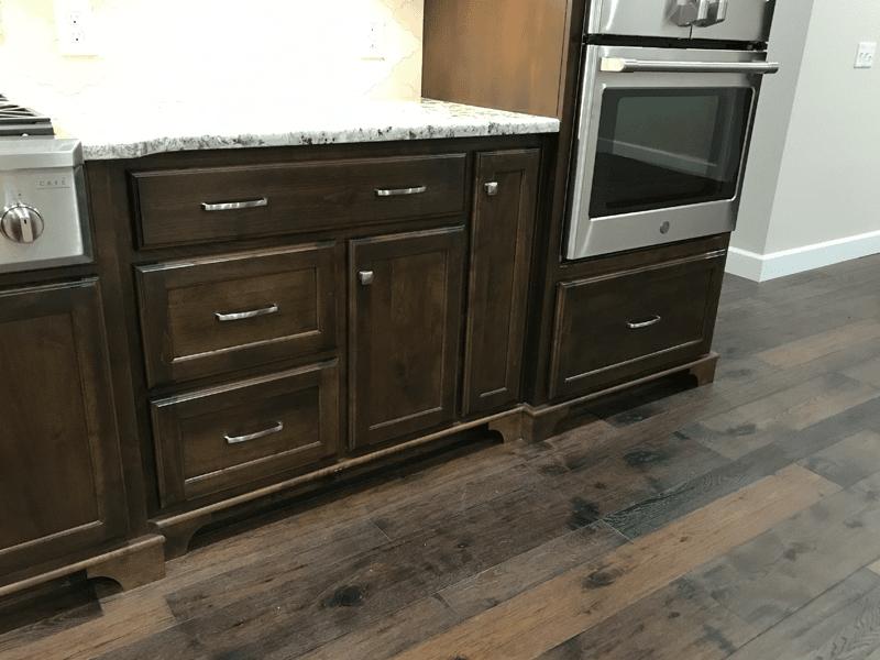 Kitchen flooring in Leawood, MO from Joplin Floor Designs