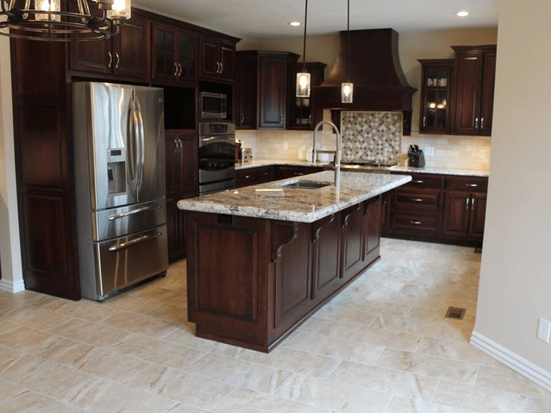 Beautiful tile flooring in Webb City, MO from Joplin Floor Designs