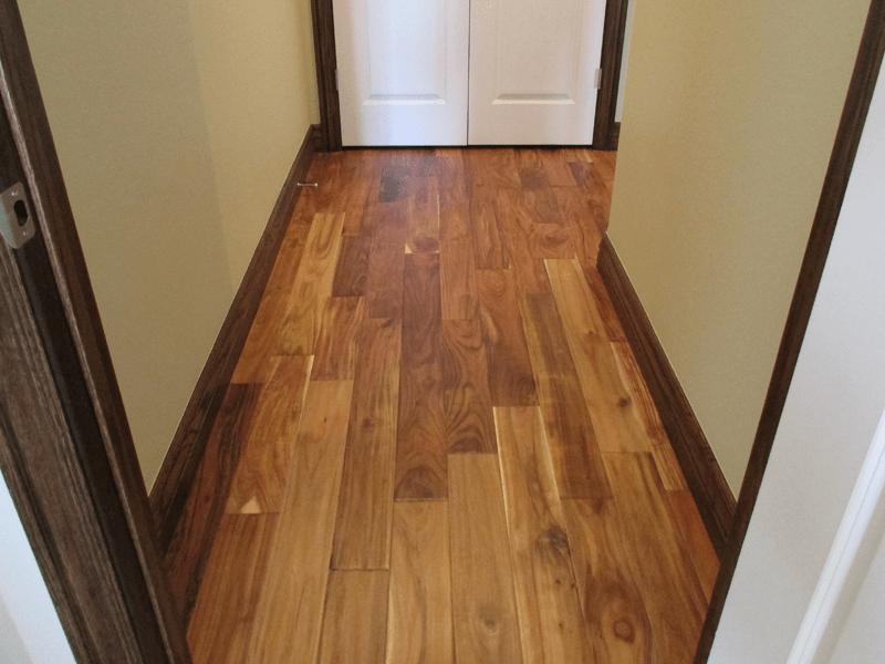 Hallway flooring in Carthage, MO from Joplin Floor Designs