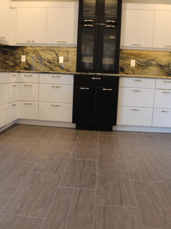 Contemporary tile flooring in Joplin, MO from Joplin Floor Designs