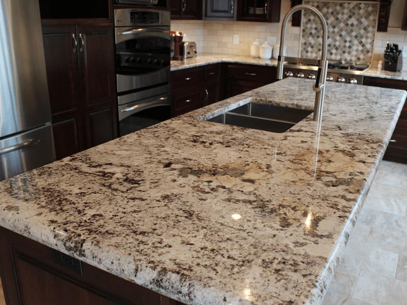 Natural granite countertops in Carthage, MO from Joplin Floor Designs