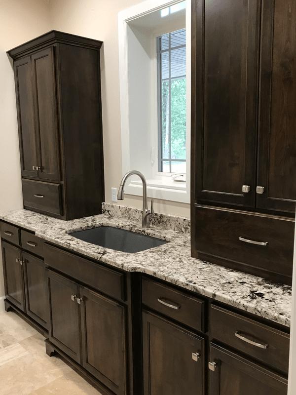 Laundry room granite countertops in Carthage, MO from Joplin Floor Designs