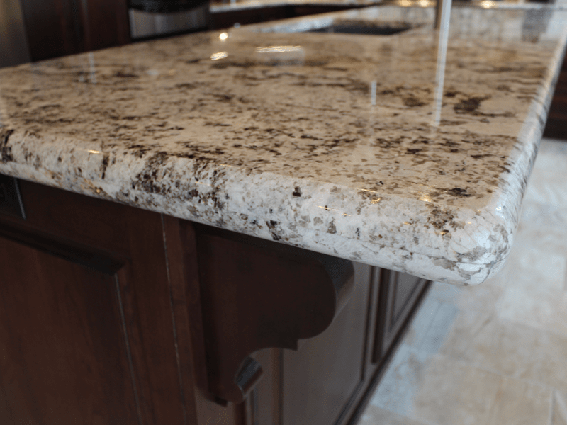 Stone countertop in Webb City, MO from Joplin Floor Designs
