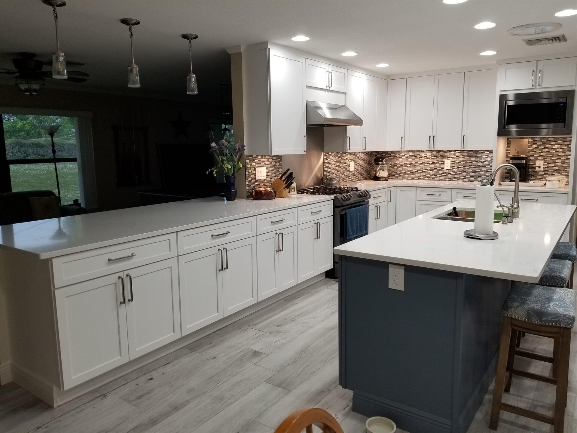Beautiful kitchen remodel in Stuart, FL from Agler Kitchen, Bath & Floors