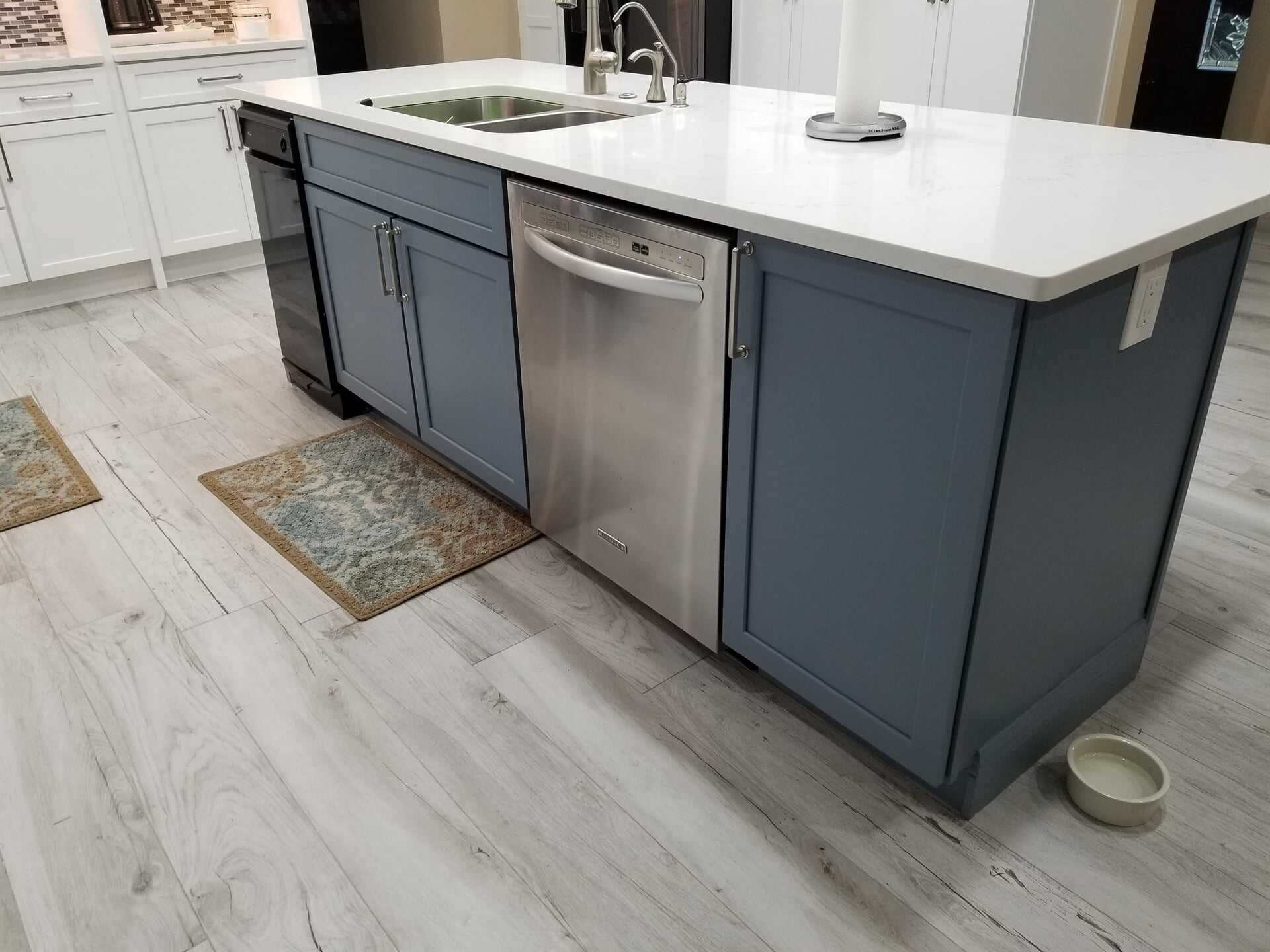Multi color cabinetry in Stuart, FL from Agler Kitchen, Bath & Floors