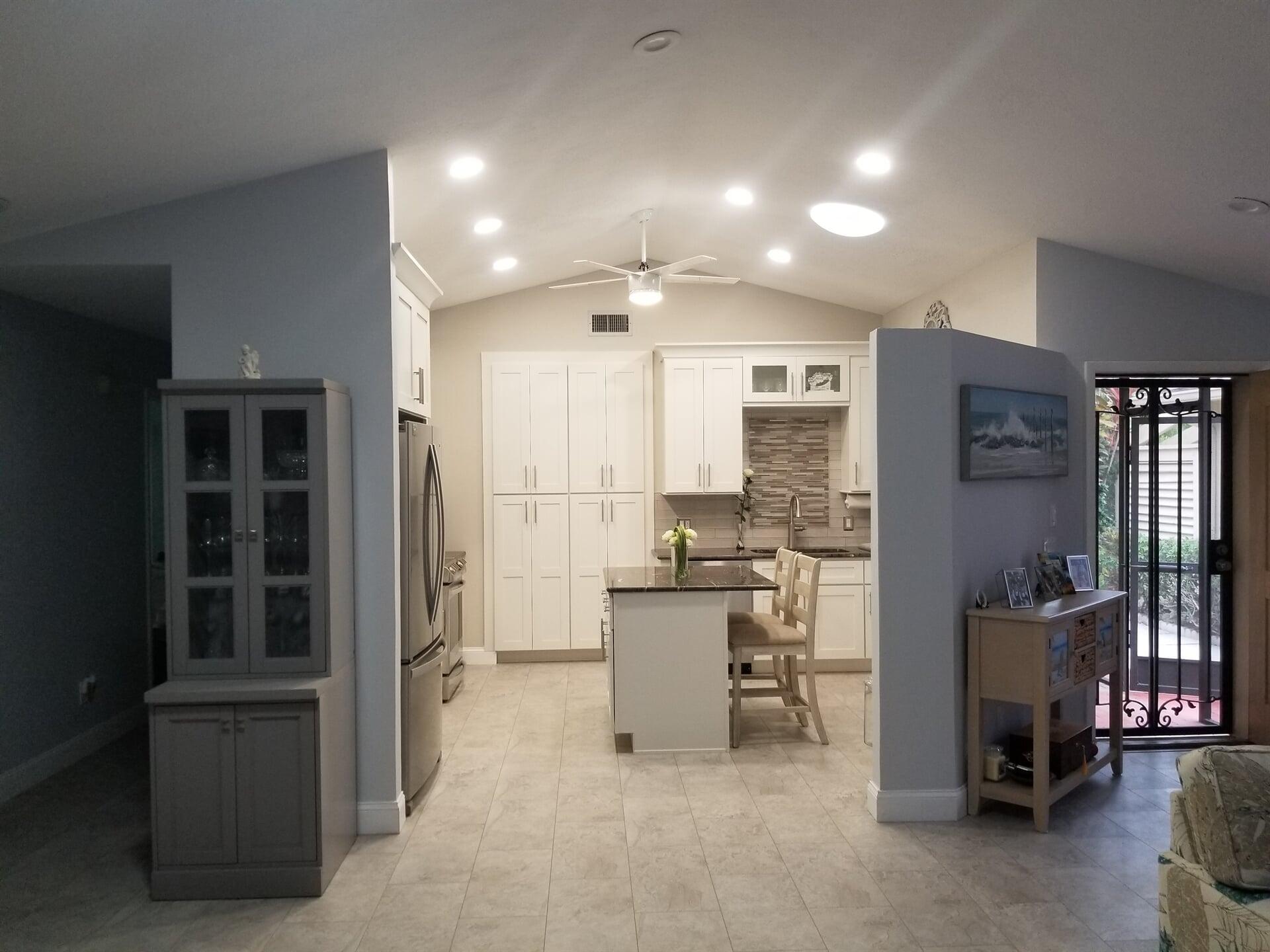 Bright kitchen in Jensen Beach, FL from Agler Kitchen, Bath & Floors