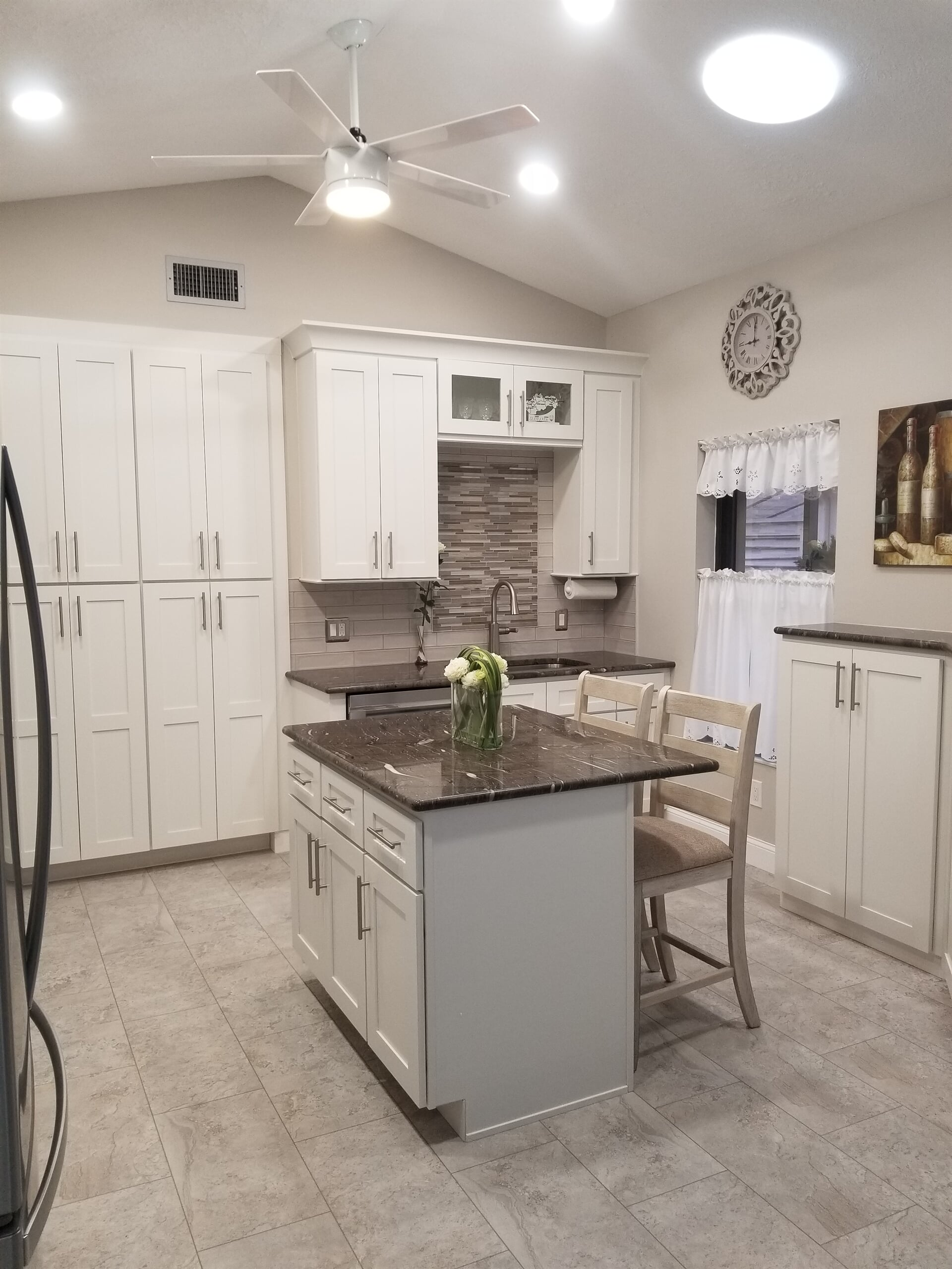 Dark granite countertops in Stuart, FL from Agler Kitchen, Bath & Floors