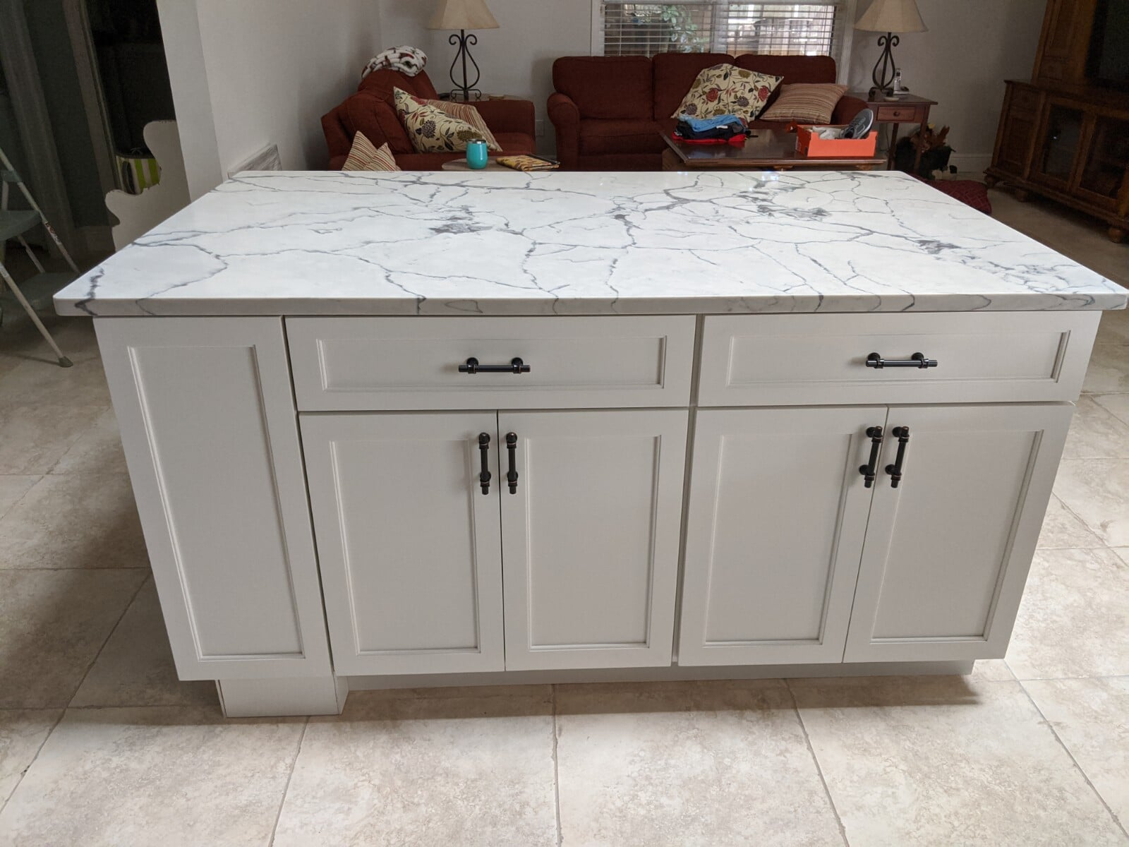 Marble countertop in Port Saint Lucie, FL from Agler Kitchen, Bath & Floors