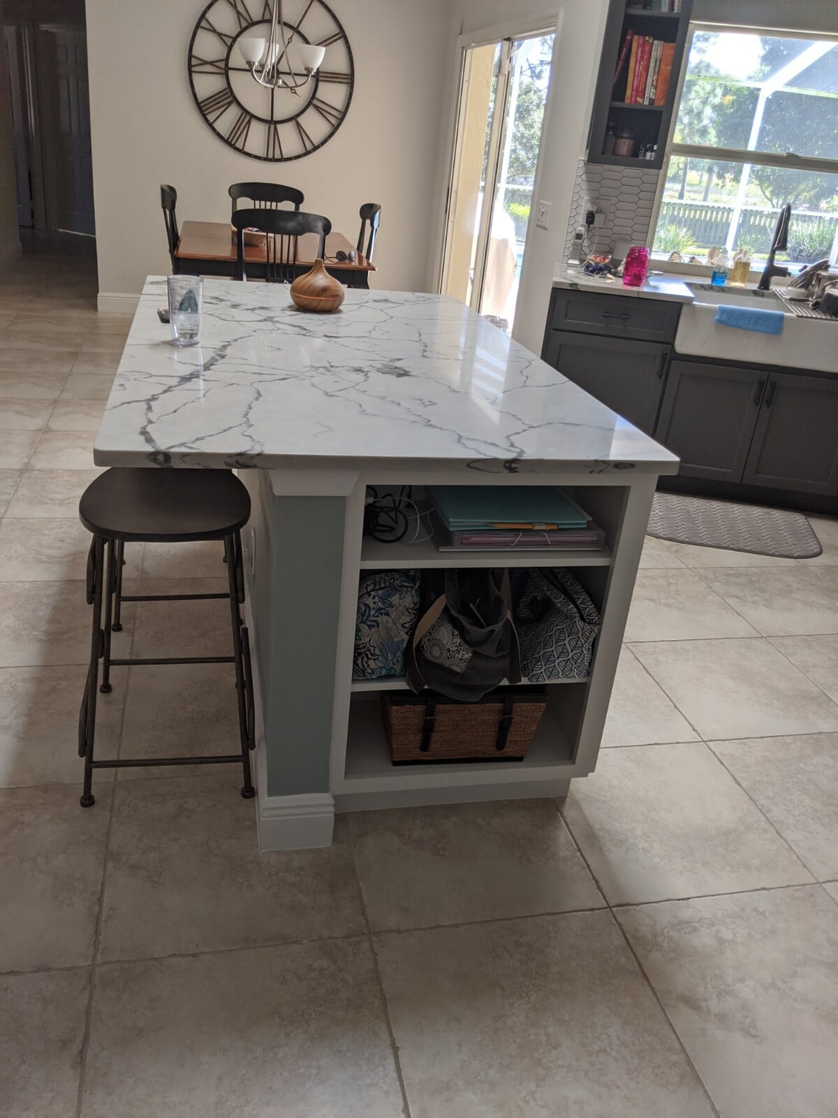 Beautiful marble counters in Port Saint Lucie, FL from Agler Kitchen, Bath & Floors