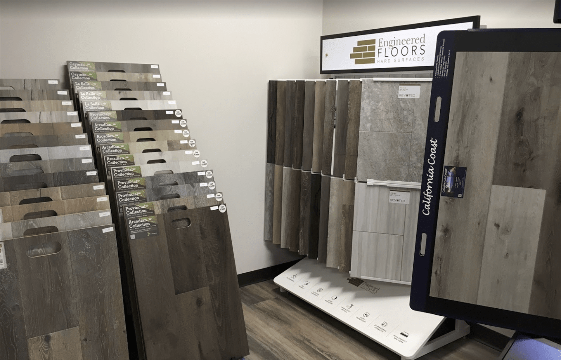 Mc Namara Flooring & Design Center showroom near Colleyville, TX