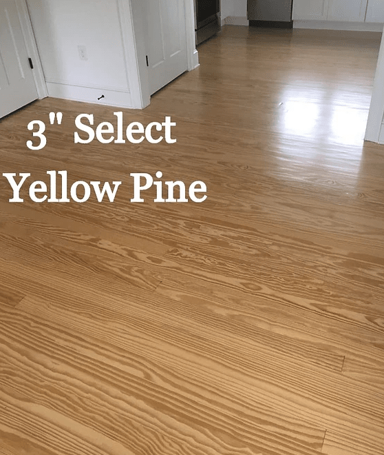 "3"" Select Yellow Pine in Kent Island, MD from Carousel Hardwood Floors"