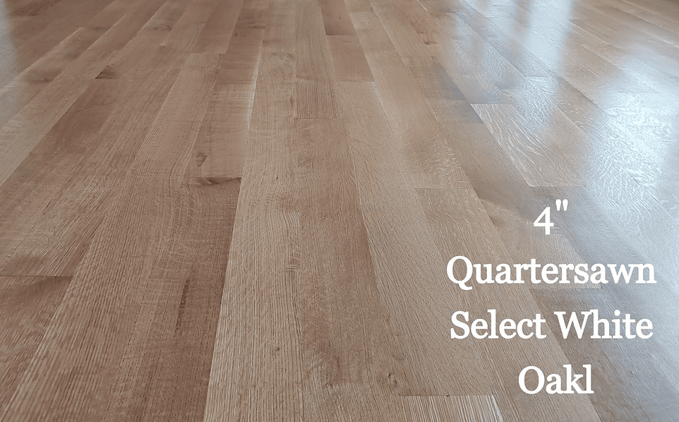 "4"" Quartersawn Select White Oak in Cambridge, MD from Carousel Hardwood Floors"