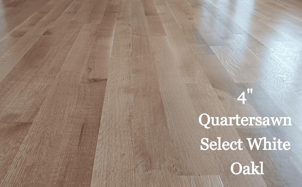 "4"" Quartersawn Select White Oak in Cambridge, MD from Carousel Hardwood Floors"