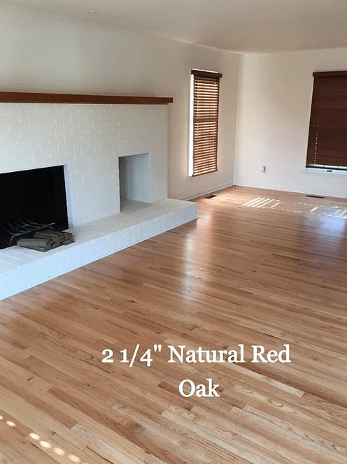 """2 1/4"""" Natural Red Oak hardwood floors in Centreville, MD from Carousel Hardwood Floors"""