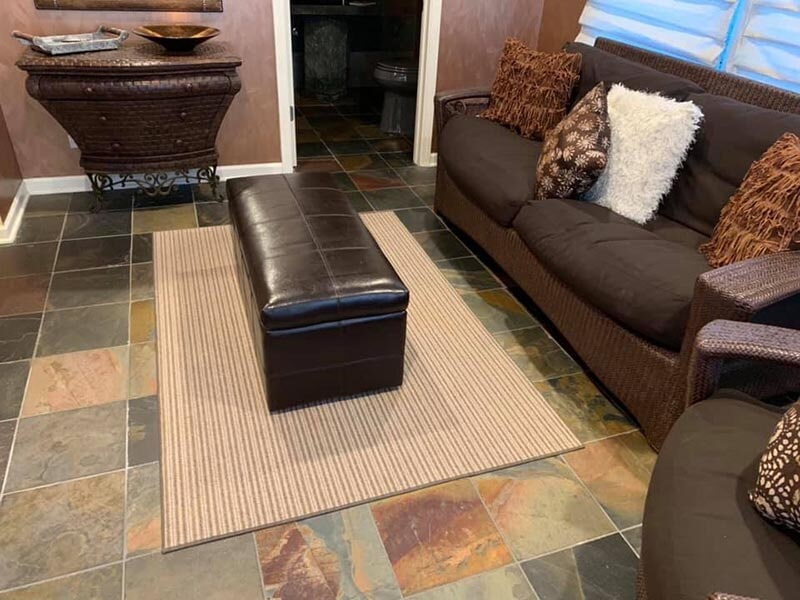 Beautiful tile flooring in Vernon Hills, IL from Wholesale Carpet Designs