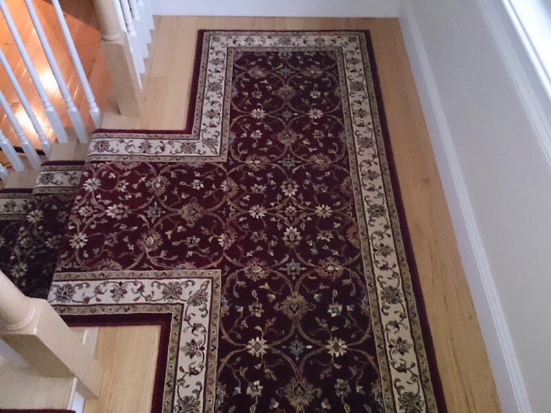 Custom runners in Lincolnshire, IL from Wholesale Carpet Designs