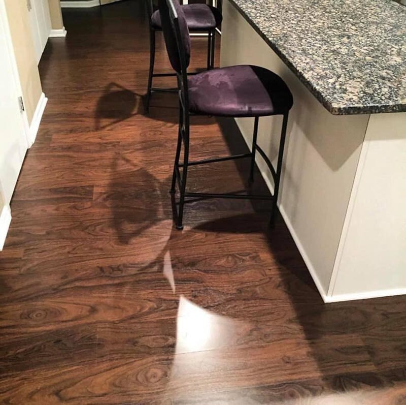 Modern wood look flooring in Libertyville, IL from Wholesale Carpet Designs