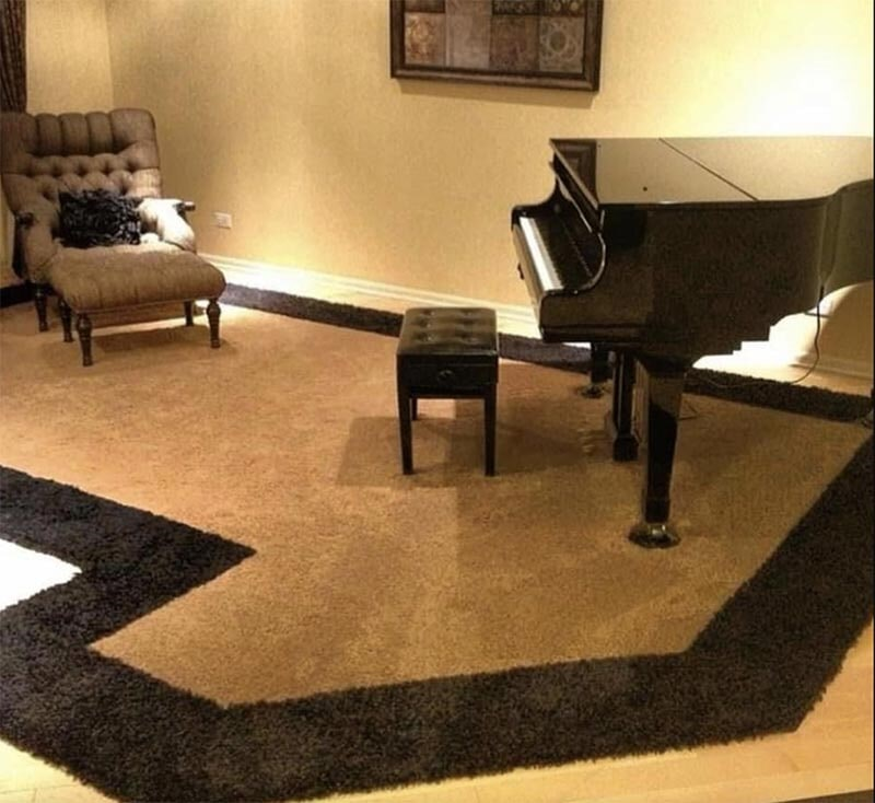 Custom rug in Riverwoods, IL from Wholesale Carpet Designs