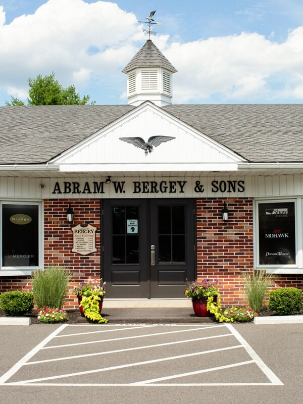 A.W. Bergey & Sons Inc. showroom near Lansdale, PA