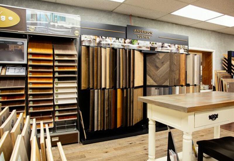 A.W. Bergey & Sons Inc. showroom near Souderton, PA