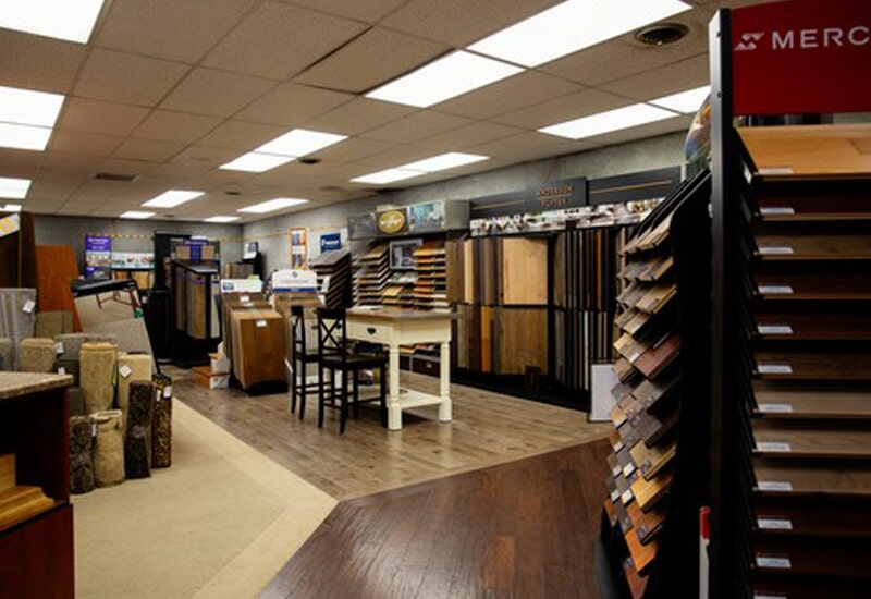 A.W. Bergey & Sons Inc. showroom near Collegeville, PA