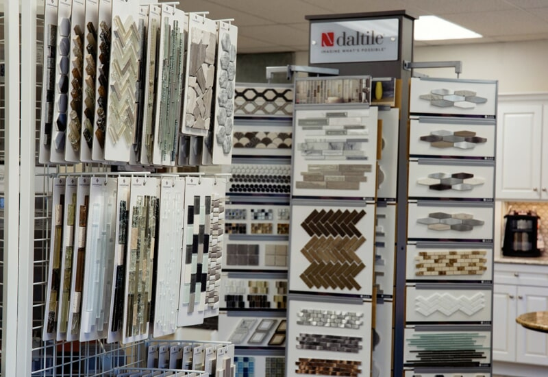 Tile options A.W. Bergey & Sons Inc. showroom near Souderton, PA