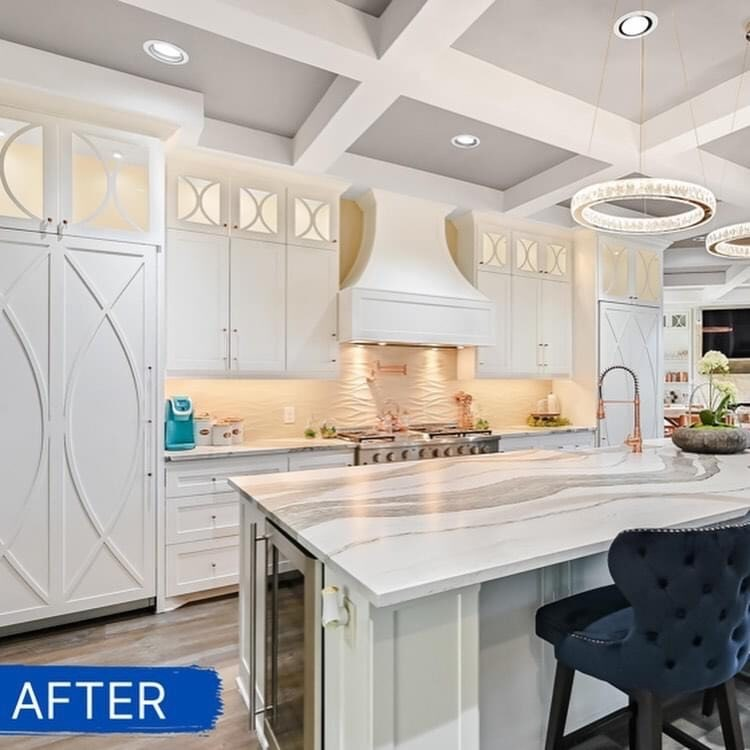 Kitchen cabinets remodel from ALL-PRO FLOORS in Dallas–Fort Worth