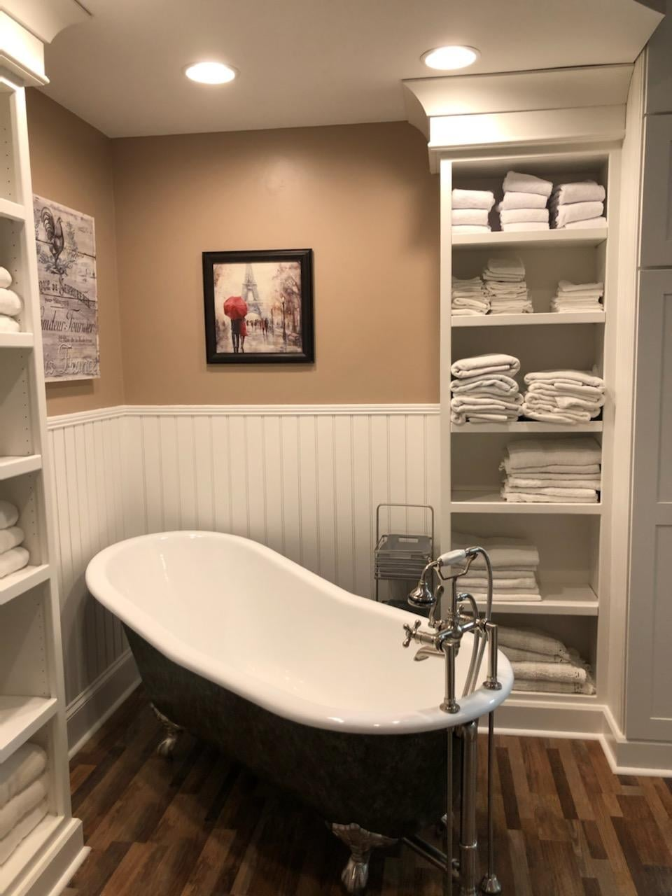 Bathroom remodel in Concord, NC from Custom Floor Solutions