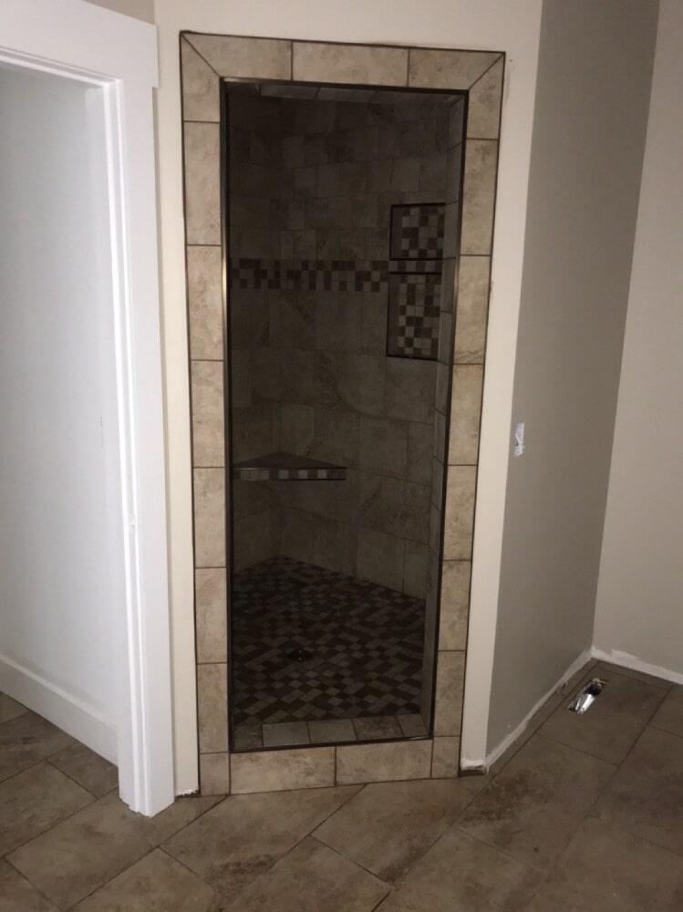 Shower installation in Nashville, TN from Absolute Flooring Inc