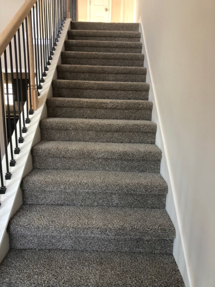 Carpeted stairs in Mt. Juliet, TN from Absolute Flooring Inc