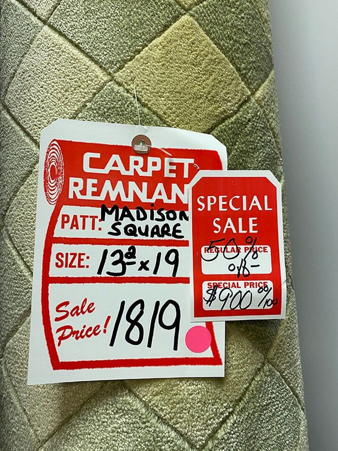 Patterned carpet remnant for your Thornwood, NY home from Floorcraft Carpet