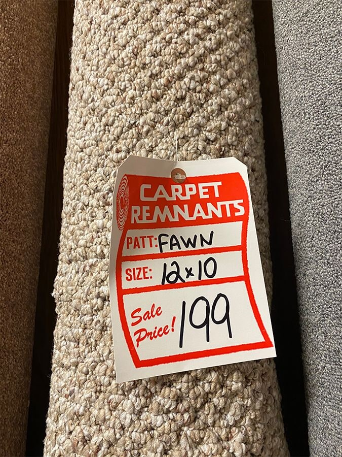 Textured carpet remnant for your Hawthorne, NY home from Floorcraft Carpet