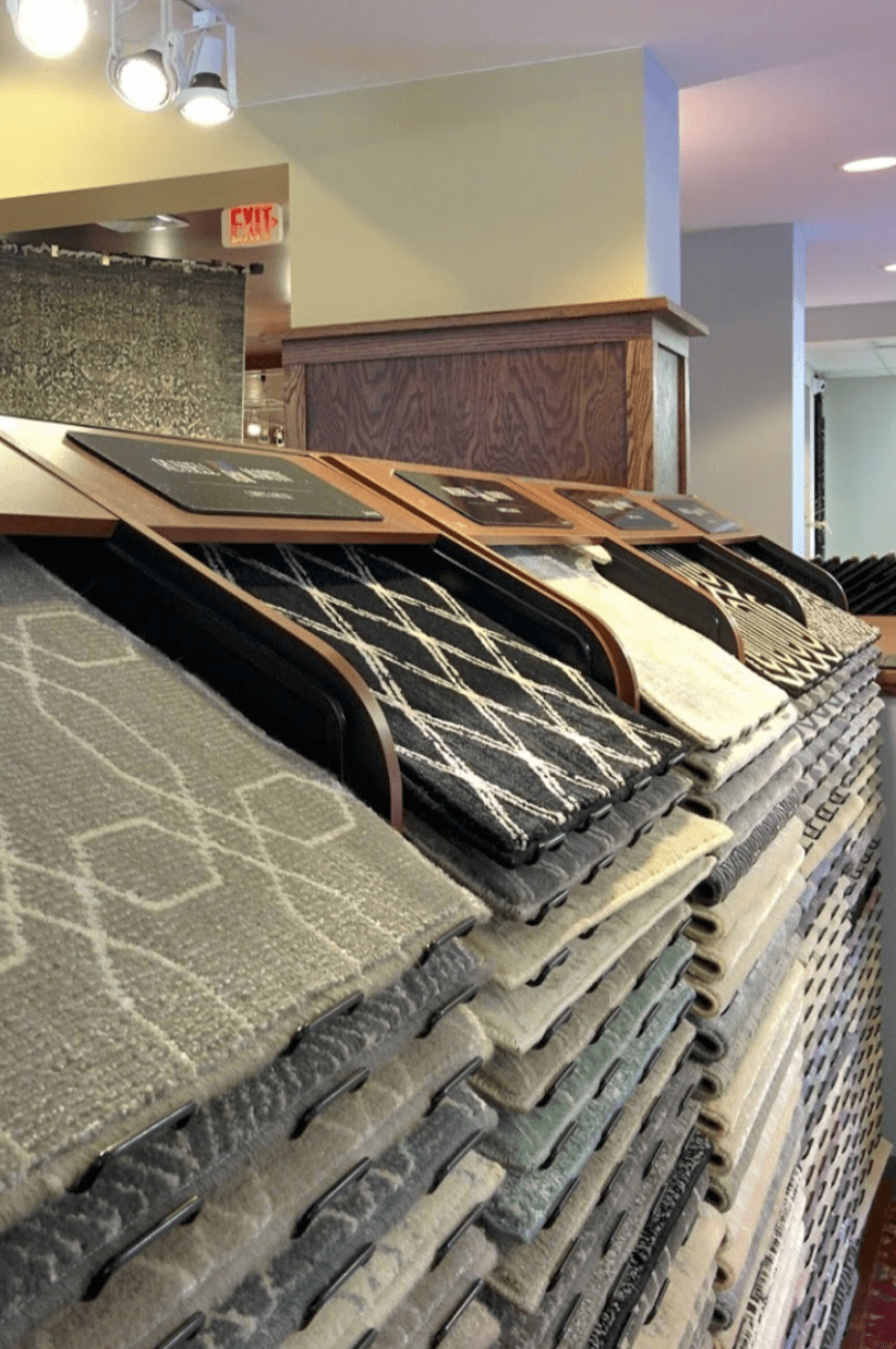 Carpet flooring in Lisle, IL from the Russell Martin Carpet & Rugs showroom